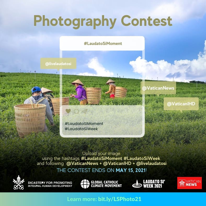 #LaudatoSiMoment Photo Contest